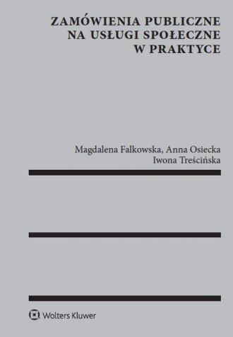Zamówienia publiczne na usługi - okładka książki
