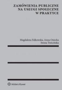 Zamówienia publiczne na usługi społeczne w praktyce - okładka książki