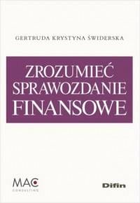 Zrozumieć sprawozdanie finansowe - okładka książki