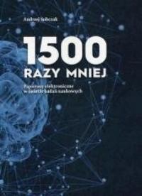 1500 razy mniej - okładka książki