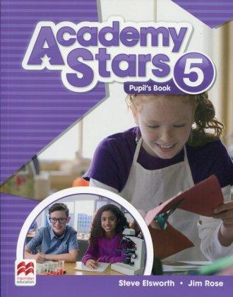 Academy Stars 5 Pupils Book - okładka podręcznika