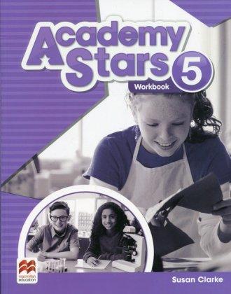 Academy Stars 5 Workbook - okładka podręcznika