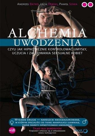 Alchemia uwodzenia czyli  jak hipnotycznie - okładka książki