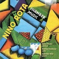 Chamber music - Nino Rota - okładka płyty