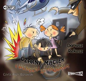 Czarny Maciek i wenecki starodruk - pudełko audiobooku
