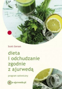 Dieta i odchudzanie zgodnie z ajurwedą - okładka książki