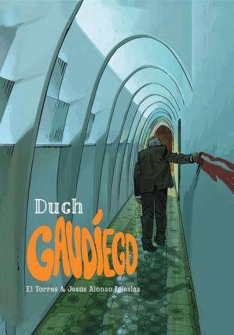 Duch Gaudiego - okładka książki