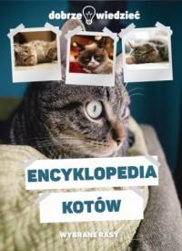 Encyklopedia kotów - Wydawnictwo - okładka książki