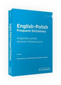 English-Polish Frequent Dictionary - okładka książki