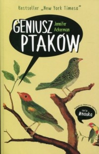 Geniusz ptaków - Jennifer Ackerman - okładka książki
