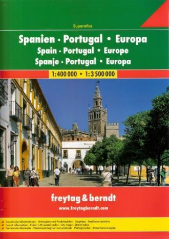 Hiszpania., Portugalia, Europa. - okładka książki