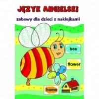 Język angielski. Zabawy dla dzieci z naklejkami - okładka podręcznika