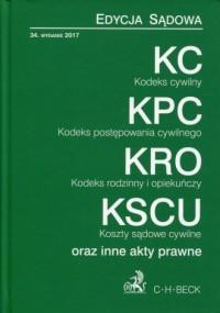 KC, KPC, KRO, KSCU. Edycja sądowa - okładka książki