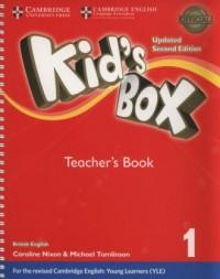 Kids Box 1 Teachers Book - okładka podręcznika