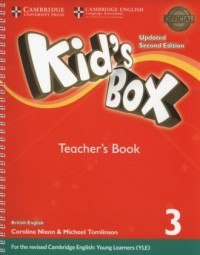 Kids Box 3 Teacher s Book - okładka podręcznika