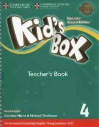 Kids Box 4 Teacher s Book - okładka podręcznika
