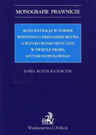 Koncentracja w formie wspólnego - okładka książki