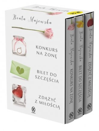 Konkurs na żonę / Bilet do szczęścia - okładka książki