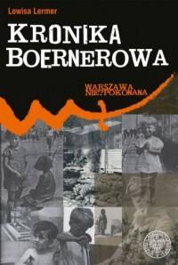 Kronika Boernerowa. Seria: Warszawa - okładka książki