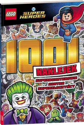 Lego DC Super Heroes 1001 naklejek - okładka książki