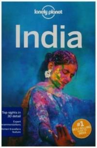 Lonely Planet. India - okładka książki