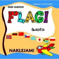 Moje ulubione flagi świata - okładka książki