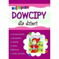 Najlepsze dowcipy dla dzieci - - okładka książki
