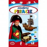 Niezdarny piracik - okładka książki