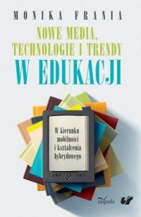Nowe media, technologie i trendy - okładka książki