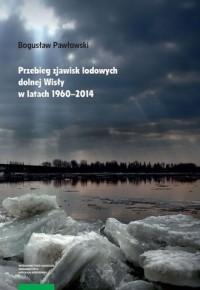 Przebieg zjawisk lodowych dolnej - okładka książki