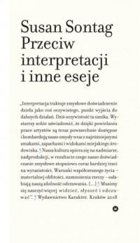 Przeciw interpretacji i inne eseje - okładka książki