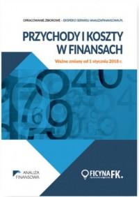 Przychody i koszty w finansach. - okładka książki