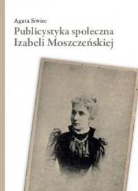 Publicystyka społeczna Izabeli - okładka książki