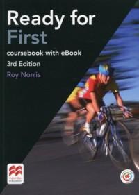 Ready for First Coursebook with - okładka książki