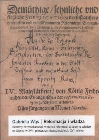 Reformacja i władza. Reformy chrześcijaństwa - okładka książki