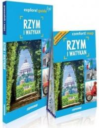 Rzym explore! guide light 3w1 - - okładka książki
