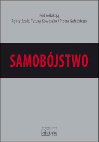 Samobójstwo - okładka książki