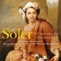Soler 6 concertos for 2 harpsichords - okładka płyty