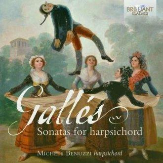Sonatas for harpsichord - okładka płyty