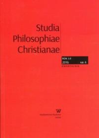 Studia Philosophiae Christianae - okładka książki