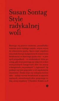 Style radykalnej woli - okładka książki