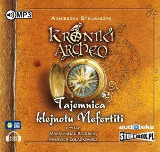 Tajemnica klejnotu Nefertiti cz.1 - pudełko audiobooku
