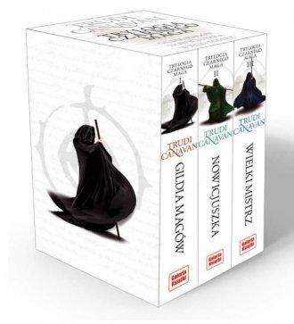 Trylogia Czarnego Maga. PAKIET - okładka książki