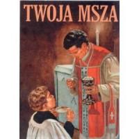 Twoja Msza - okładka książki