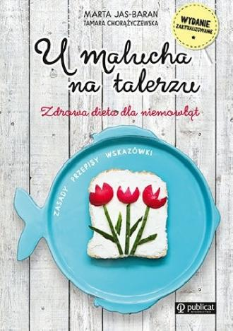 U malucha na talerzu - okładka książki