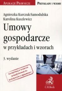 Umowy gospodarcze w przykładach - okładka książki