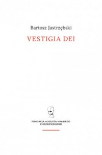 Vestigia Dei - okładka książki