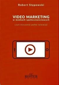 Video marketing w mediach społecznościowych - okładka książki