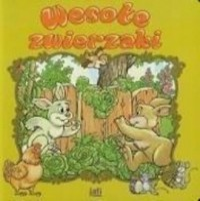 Wesołe zwierzaki - okładka książki
