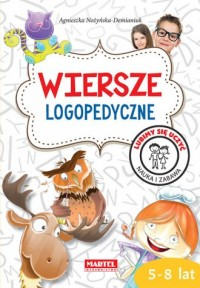 Wiersze logopedyczne - Agnieszka - okładka książki